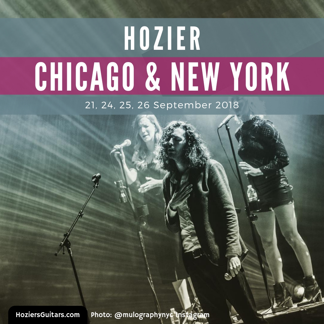 Hozier Chicago and New York