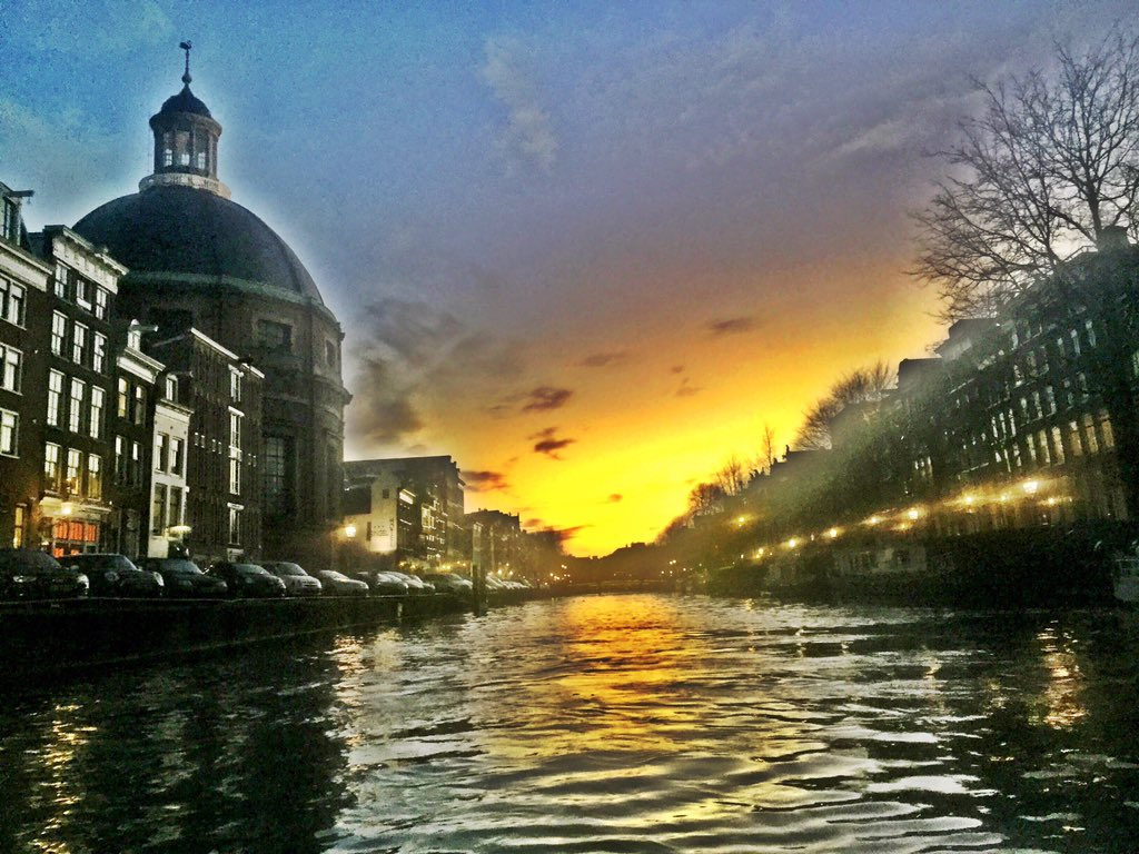 Mia Fitz Photo Boat Ride Amsterdam Sunset