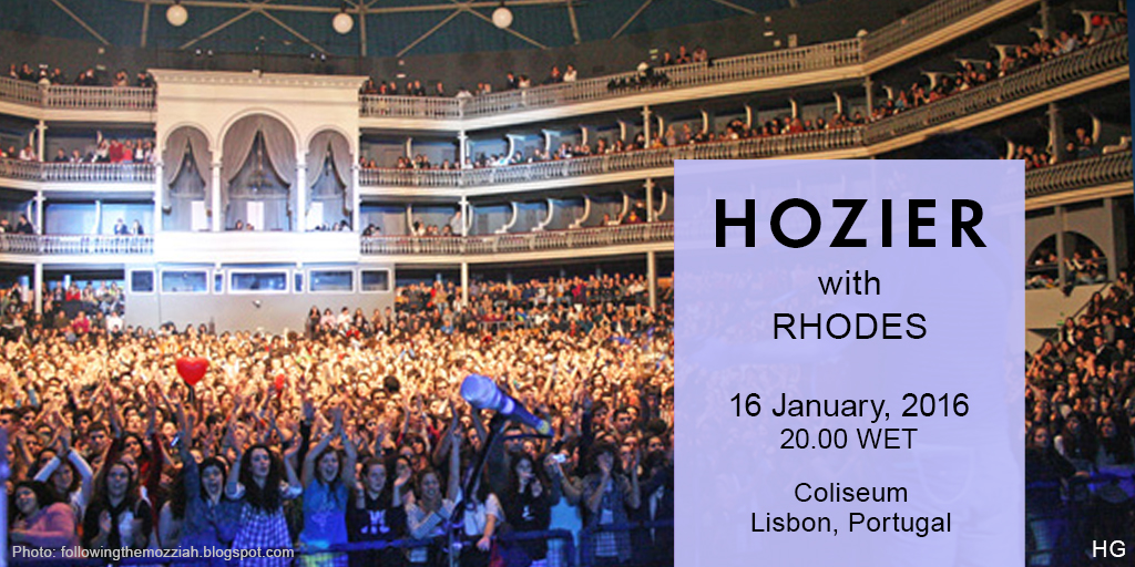 Hozier plays the Coliseum in Lisbon