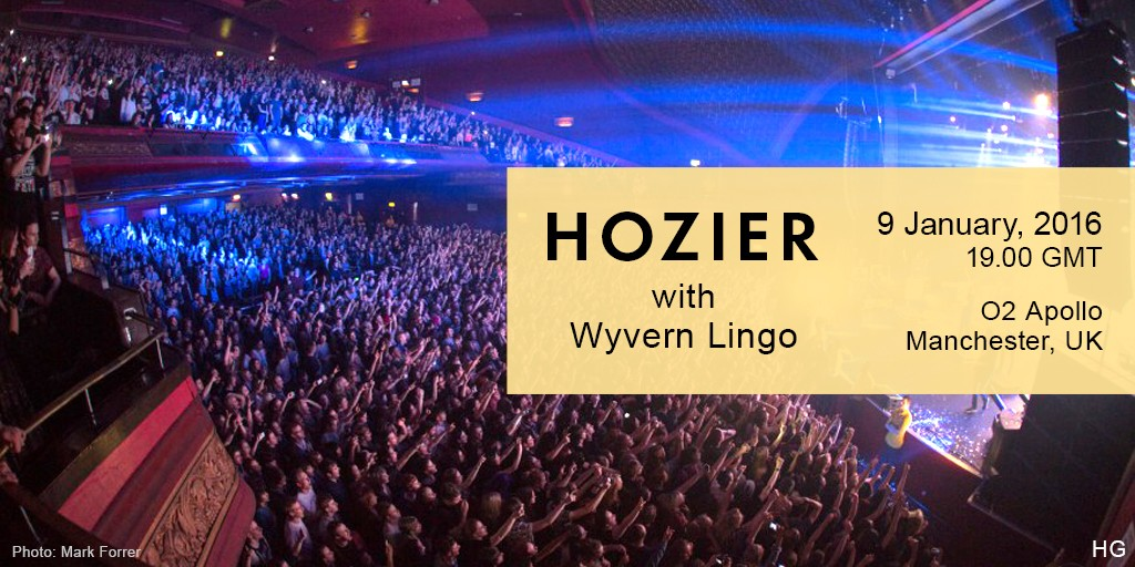 Hozier plays Manchester 02 Apollo