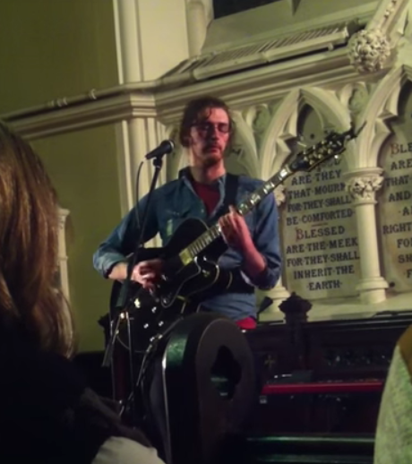 Hozier on 23 Feb 2013 Unitarian Church
