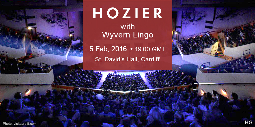 Hozier in Cardiff