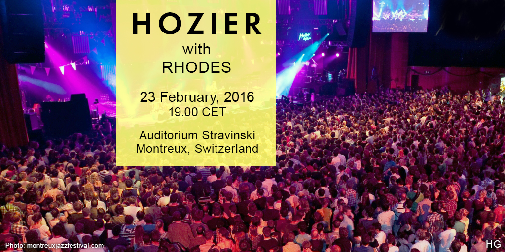 Hozier in Montreux