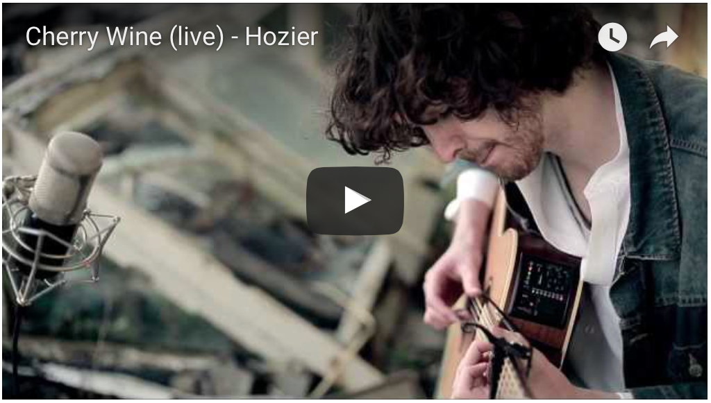 Hozier Cherry Wine video