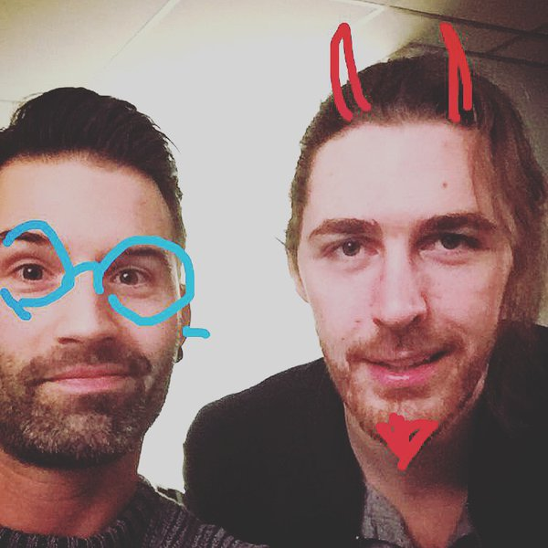 Hozier with Sean Dhondt