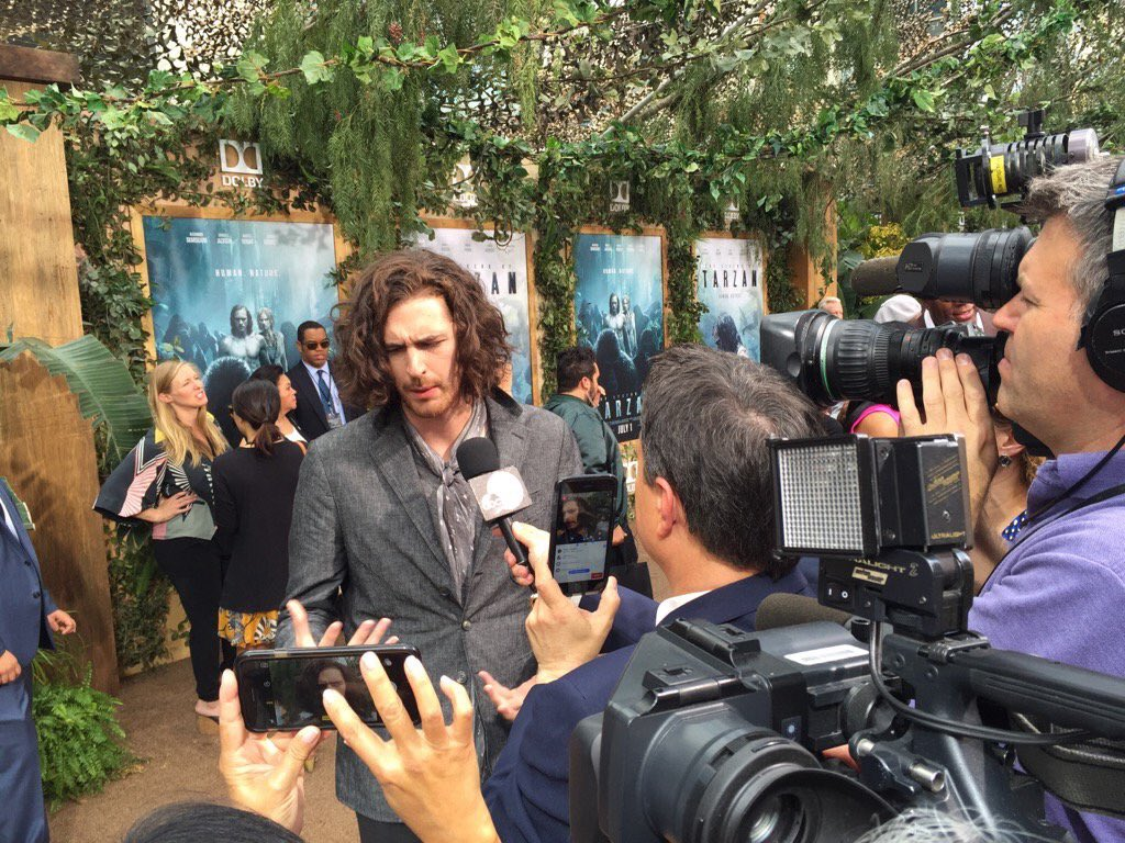 Hozier at The Legend of Tarzan Premiere