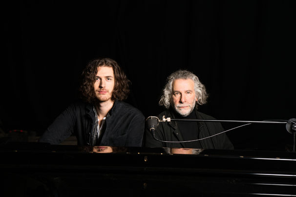 Hozier and Kevin Godley