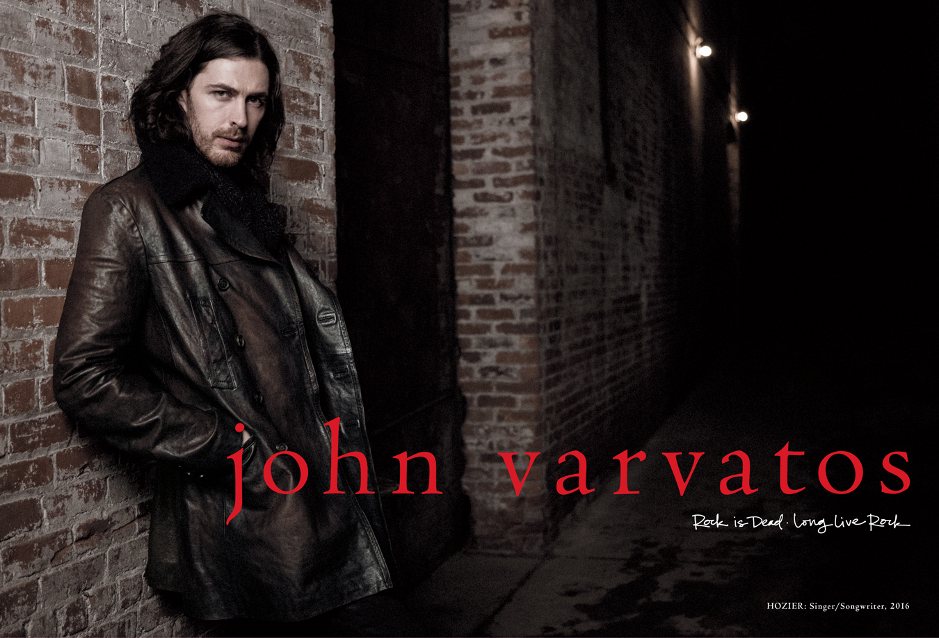 Hozier for John Varvatos