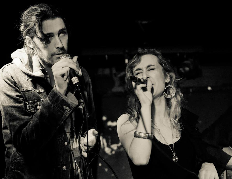 Hozier and Karen Cowley in Zaska, Sweeney's February 2013