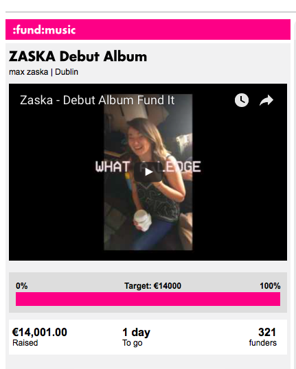 Fully Funded Zaska Album