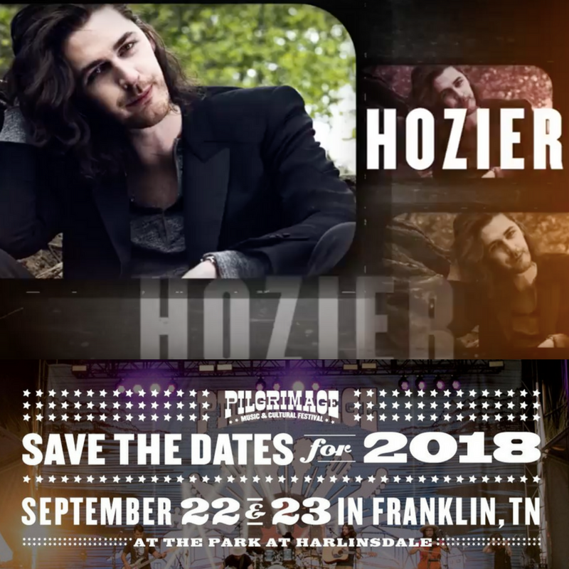 Hozier at Pilgrimage Festival