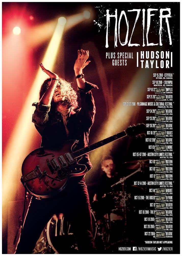 N. American tour dates