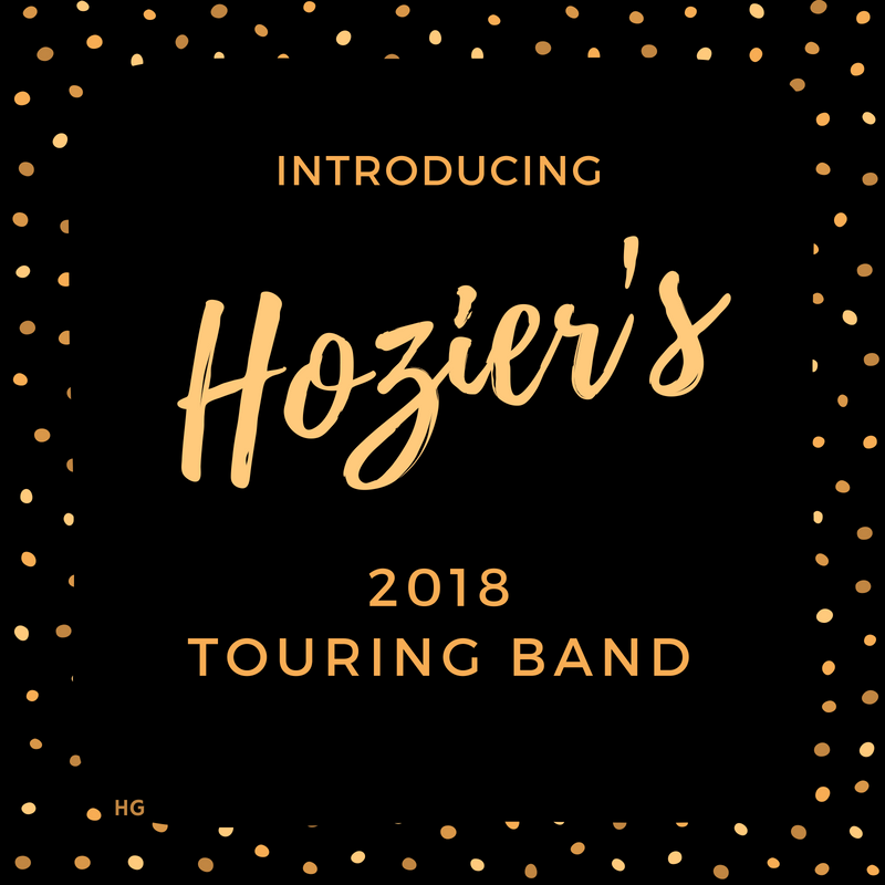 Introducing Hozier's 2018 Touring Band
