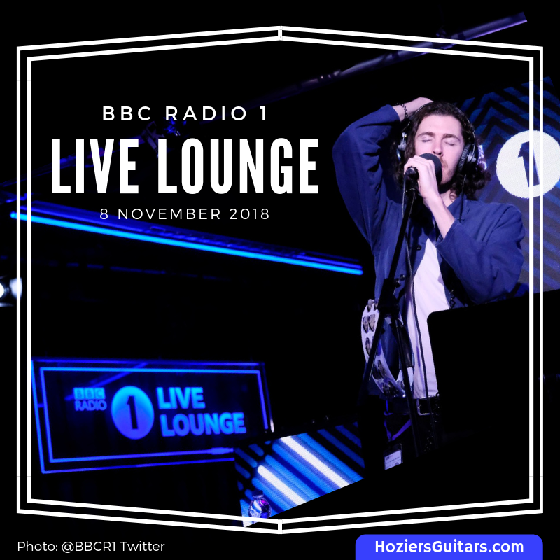 Hozier on BBC Radio 1 Live Lounge