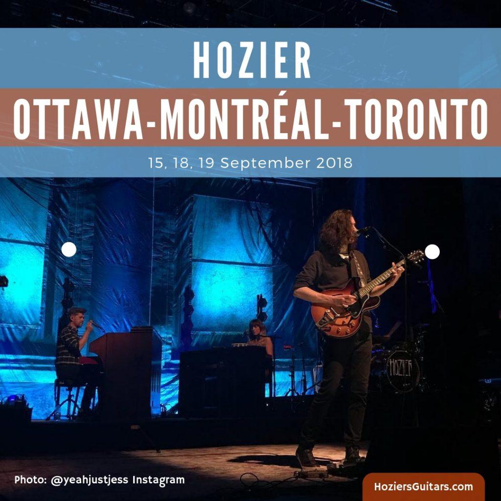 Hozier Tour Ottawa Montreal Toronto