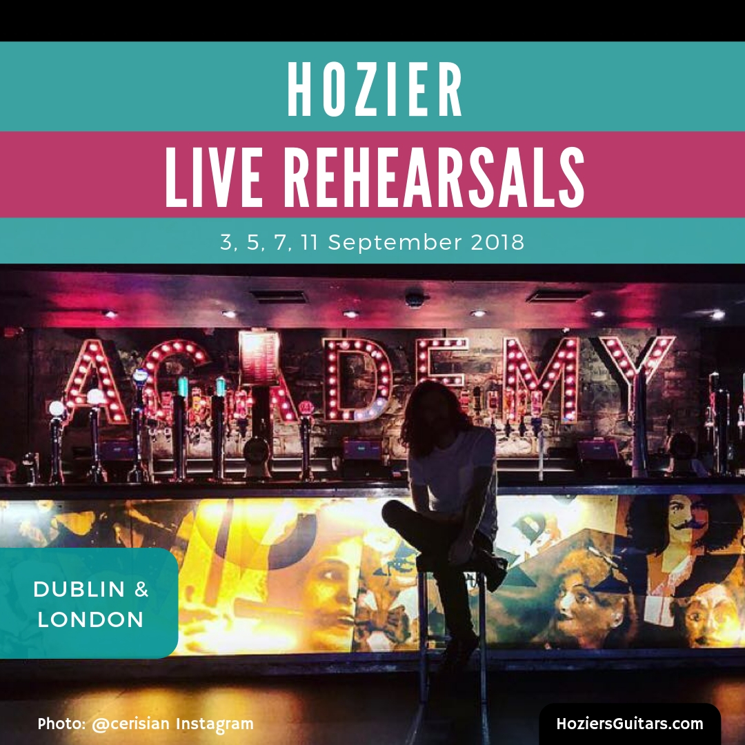 Hozier Live Rehearsals