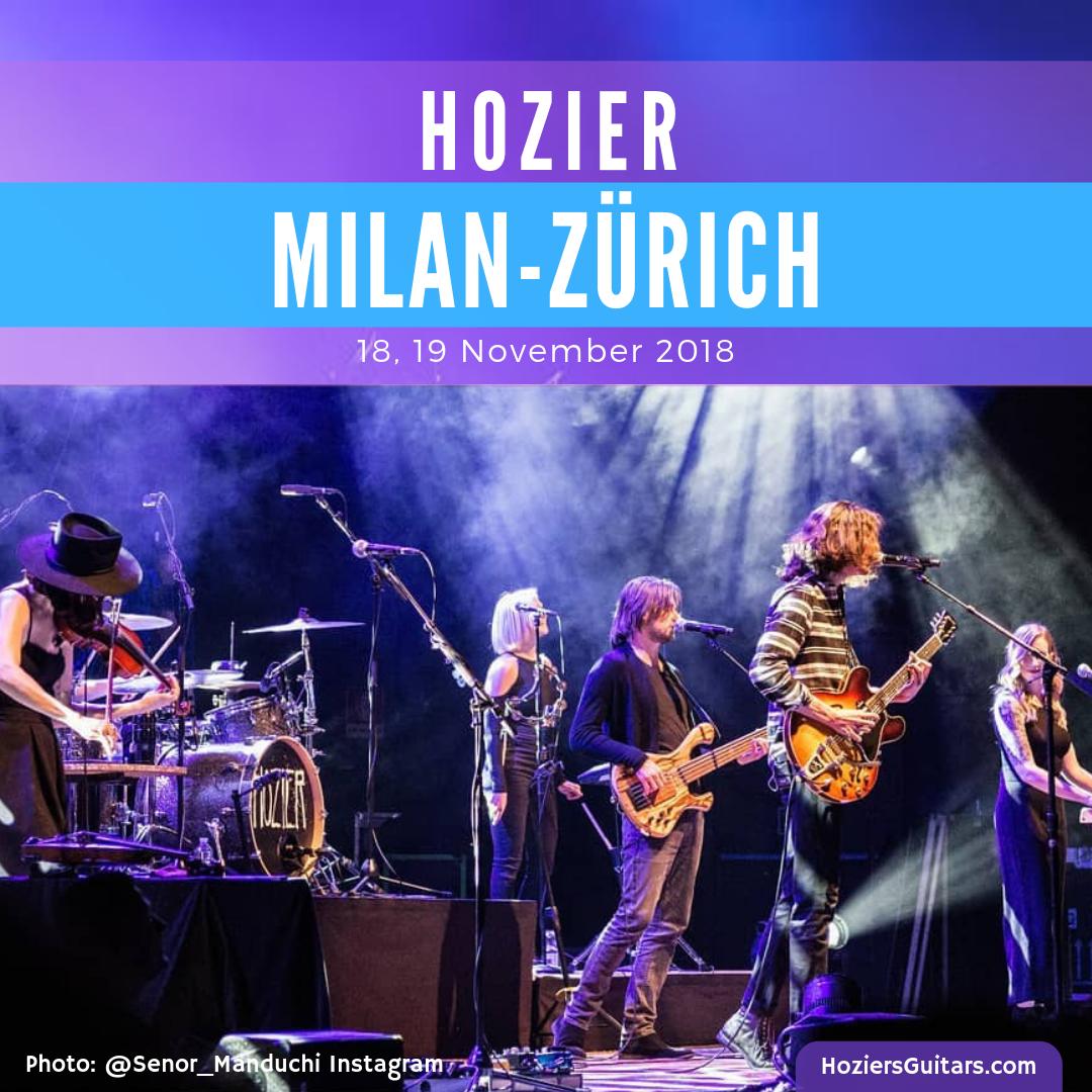 Hozier Milan-Zurich