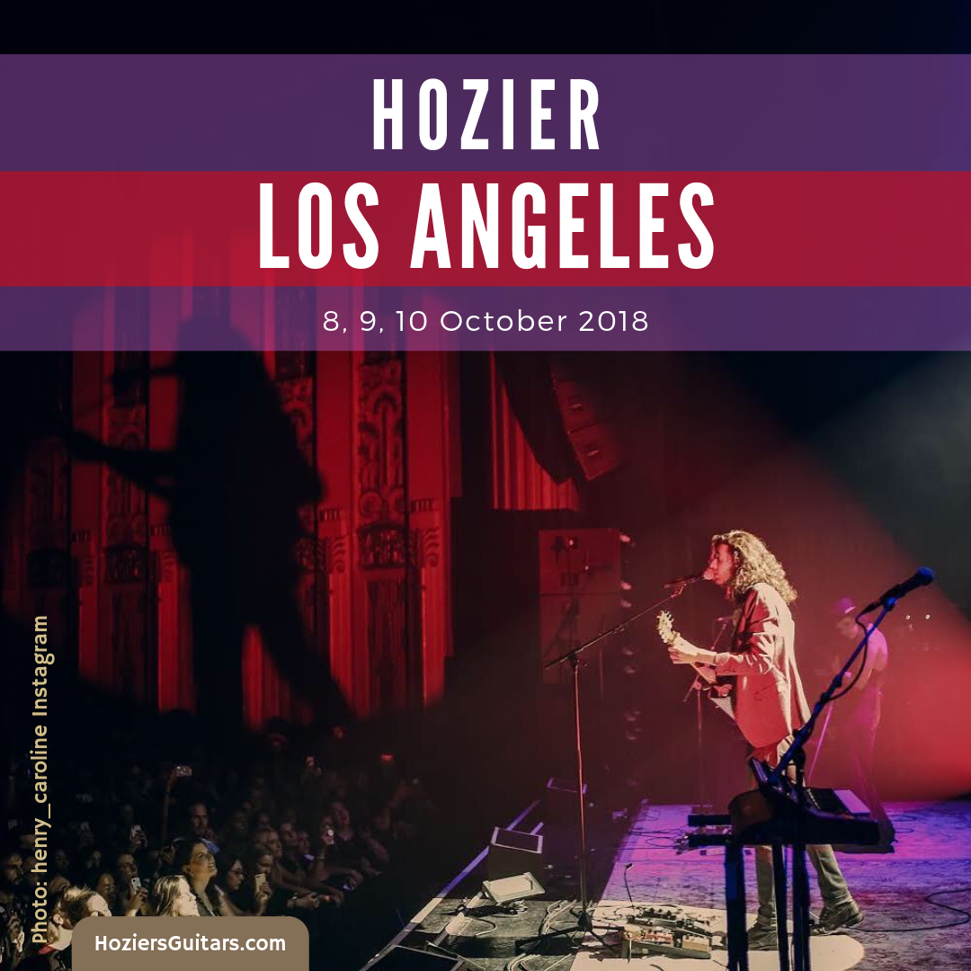 Hozier Los Angeles 2018