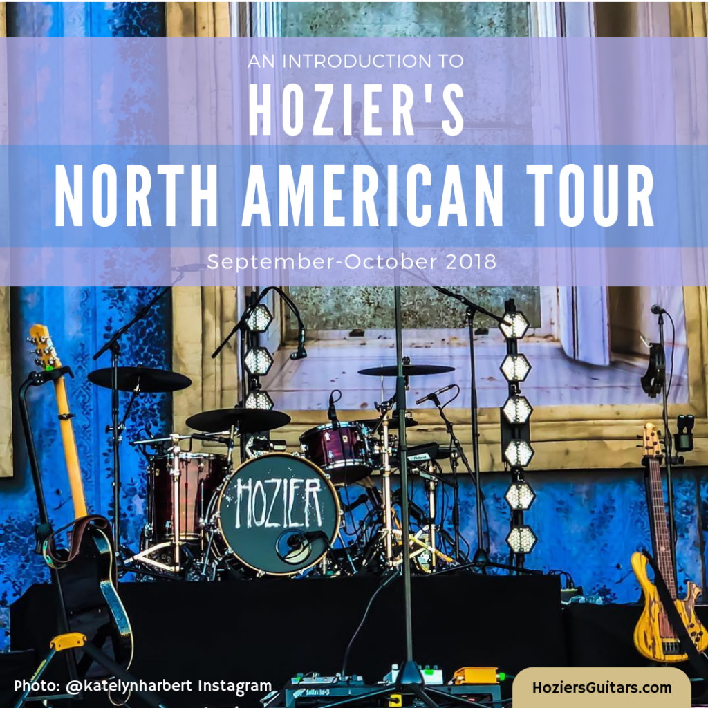 Hozier North American Tour 2018
