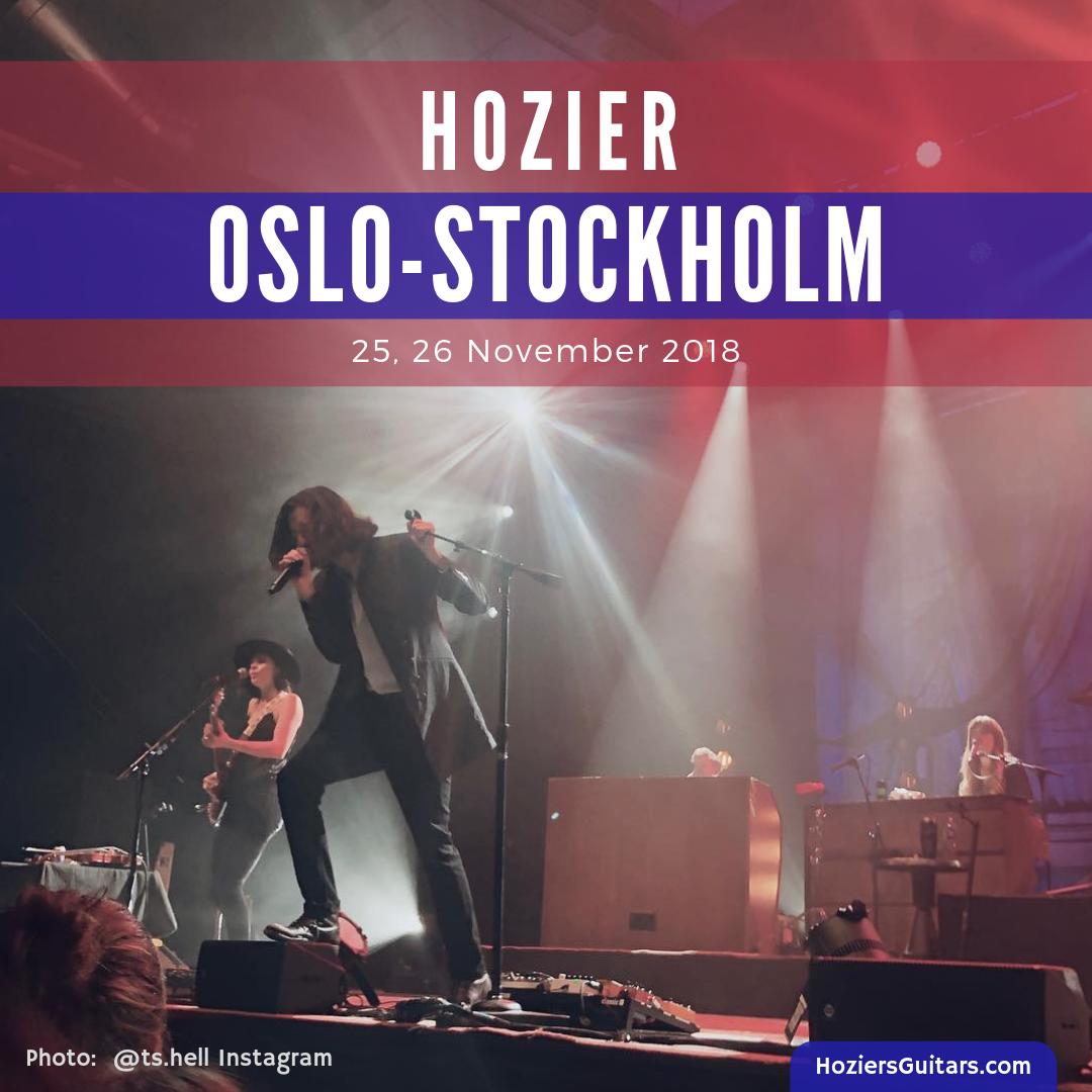 Hozier Oslo-Stockholm