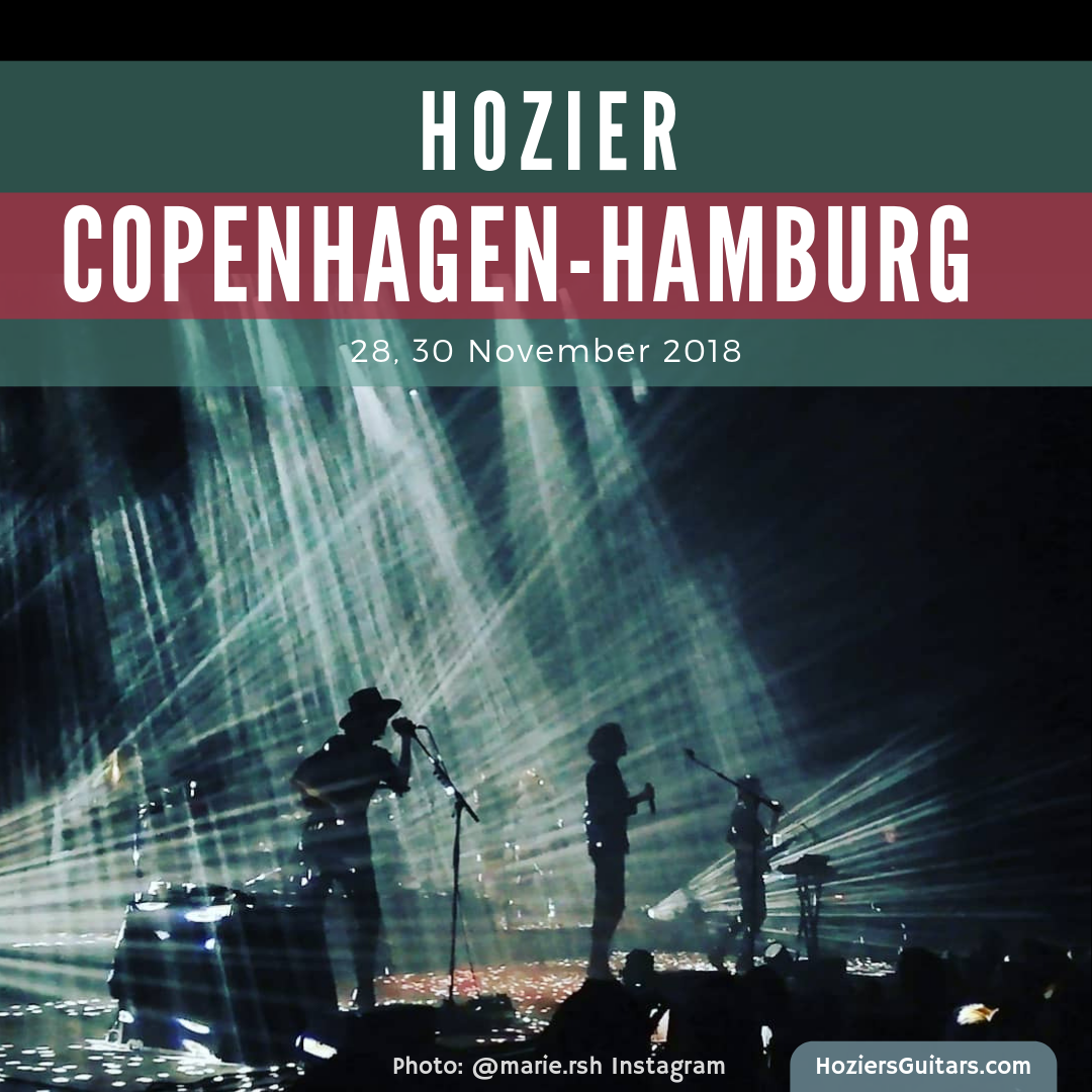 Hozier in Copenhagen and Hamburg
